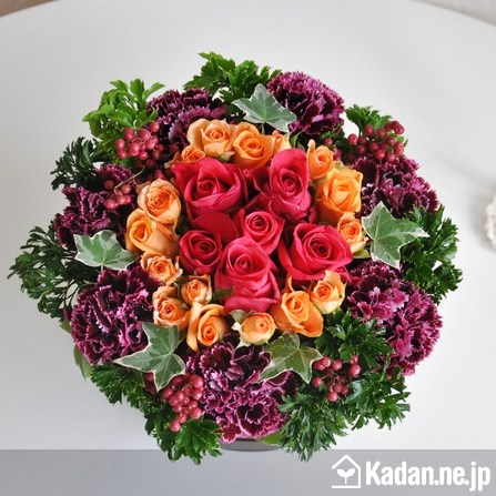 Florist's creation #37648 for BD of Company or Shop by Kadan.ne.jp, the flower terminal of Japan.