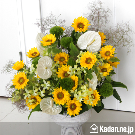 Florist's creation #37765 for BD of Company or Shop by Kadan.ne.jp, the flower terminal of Japan.