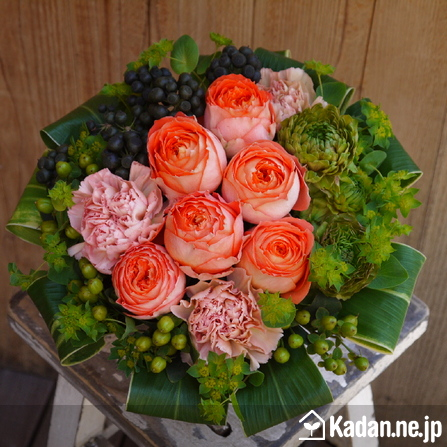 Florist's creation #59717 for Get Well Flowers by Kadan.ne.jp, the flower terminal of Japan.