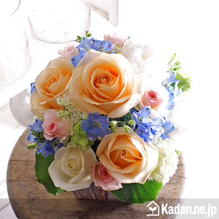 Florist's creation #69214 for BD of Company or Shop by Kadan.ne.jp, the flower terminal of Japan.