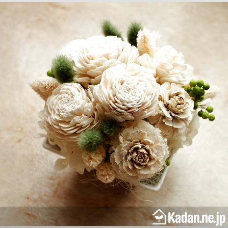Florist's creation #71250 for Thank You Flower by Kadan.ne.jp, the flower terminal of Japan.