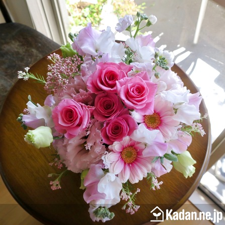 Florist's creation #71245 for BD of Company or Shop by Kadan.ne.jp, the flower terminal of Japan.