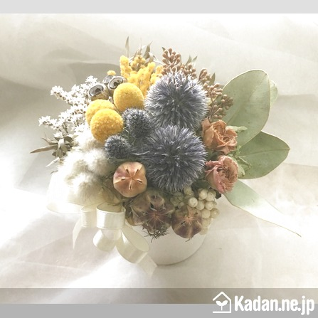 Florist's creation #71633 for Mother's Day by Kadan.ne.jp, the flower terminal of Japan.