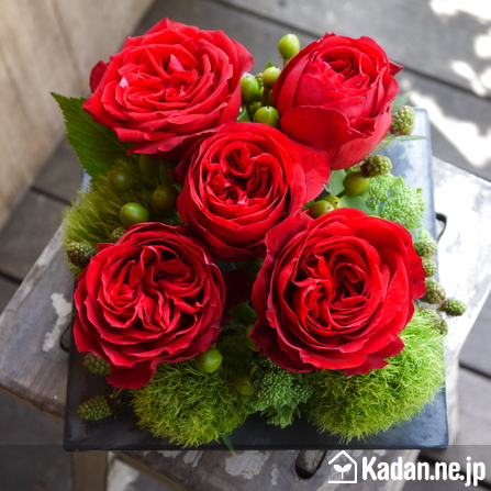 Florist's creation #71946 for BD of Company or Shop by Kadan.ne.jp, the flower terminal of Japan.
