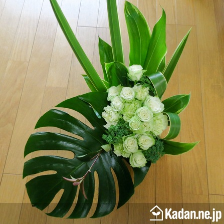 Florist's creation #72406 for BD of Company or Shop by Kadan.ne.jp, the flower terminal of Japan.