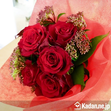 Florist's creation #72660 for Opening & Handsel by Kadan.ne.jp, the flower terminal of Japan.