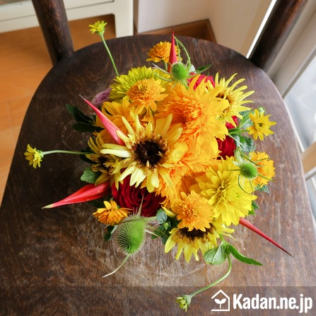 Florist's creation #73436 for BD of Company or Shop by Kadan.ne.jp, the flower terminal of Japan.